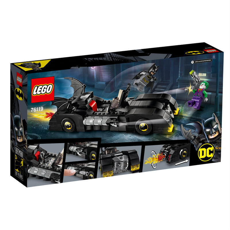 LEGO Super heroes 76119 Batmobile™: Jokerin™ takaa-ajo