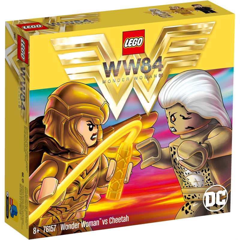 LEGO DC Comics Super Heroes 76157 Wonder Woman™ vs Cheetah