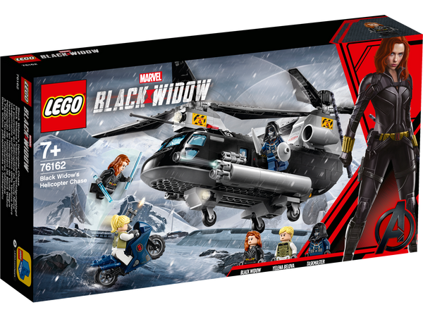 LEGO Super Heroes 76162 Black Widow's Helicopter Chase