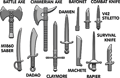 Brickarms Blade Pack 2016 Aseet