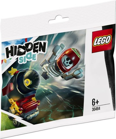 LEGO Hidden Side 30464 El Fuegon tempputykki