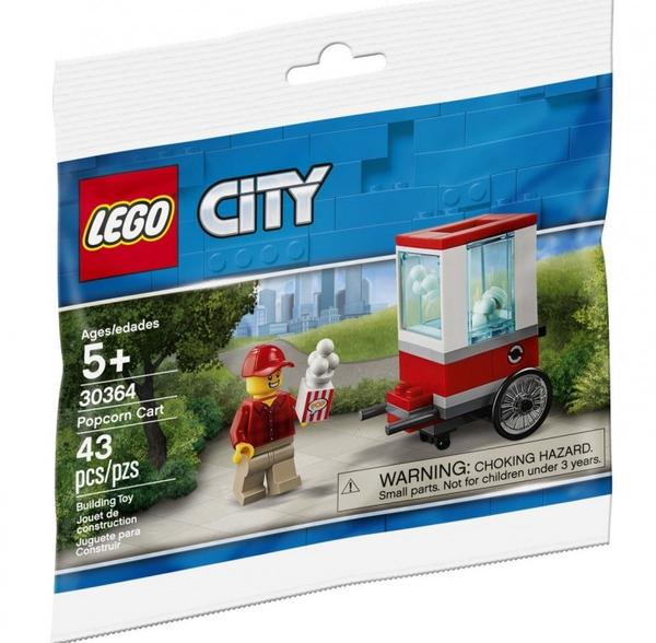 LEGO City 30364 Popcorn-kärry