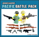 Brickarms Pacific Battle Pack Sotilaat
