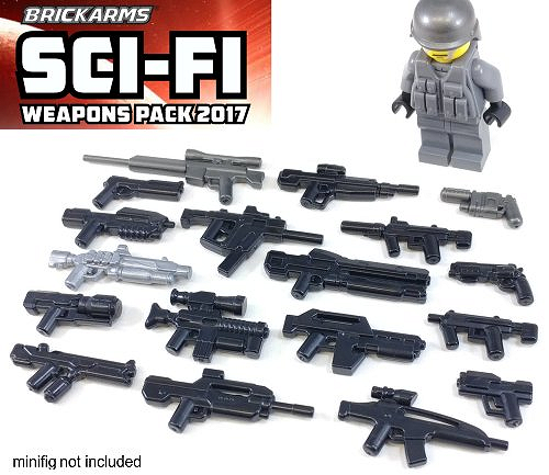 Brickarms Sci-Fi Weapons Pack 2017 Sotilas