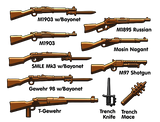Brickarms WW1 Trench Pack Aseet