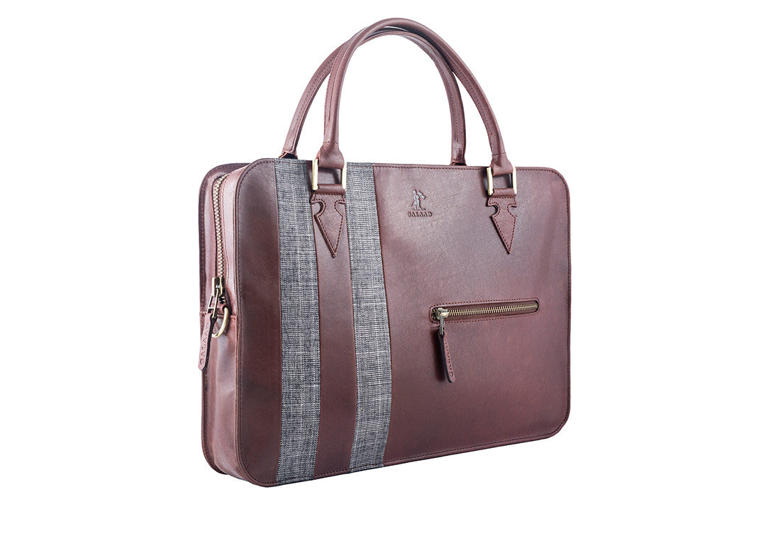 High Feather Brown - Laptop Bag