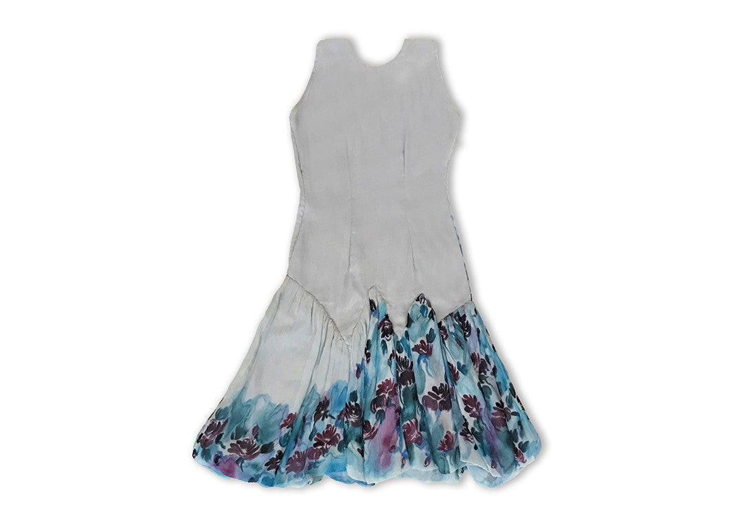 Beach Breeze - Sharon Walia Handpainted Dress