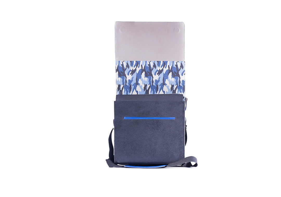 Fearless Forward Blue - Messenger Bag