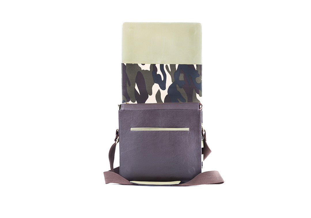 Fearless Forward Green - Messenger Bag