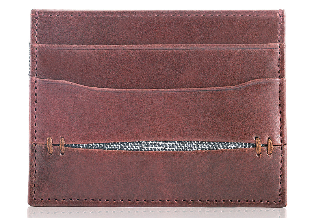High Feather Brown - Card Holder