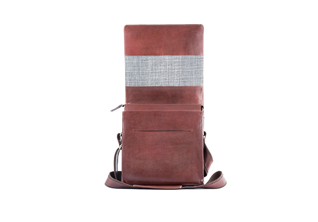 High Feather Brown - Messenger Bag