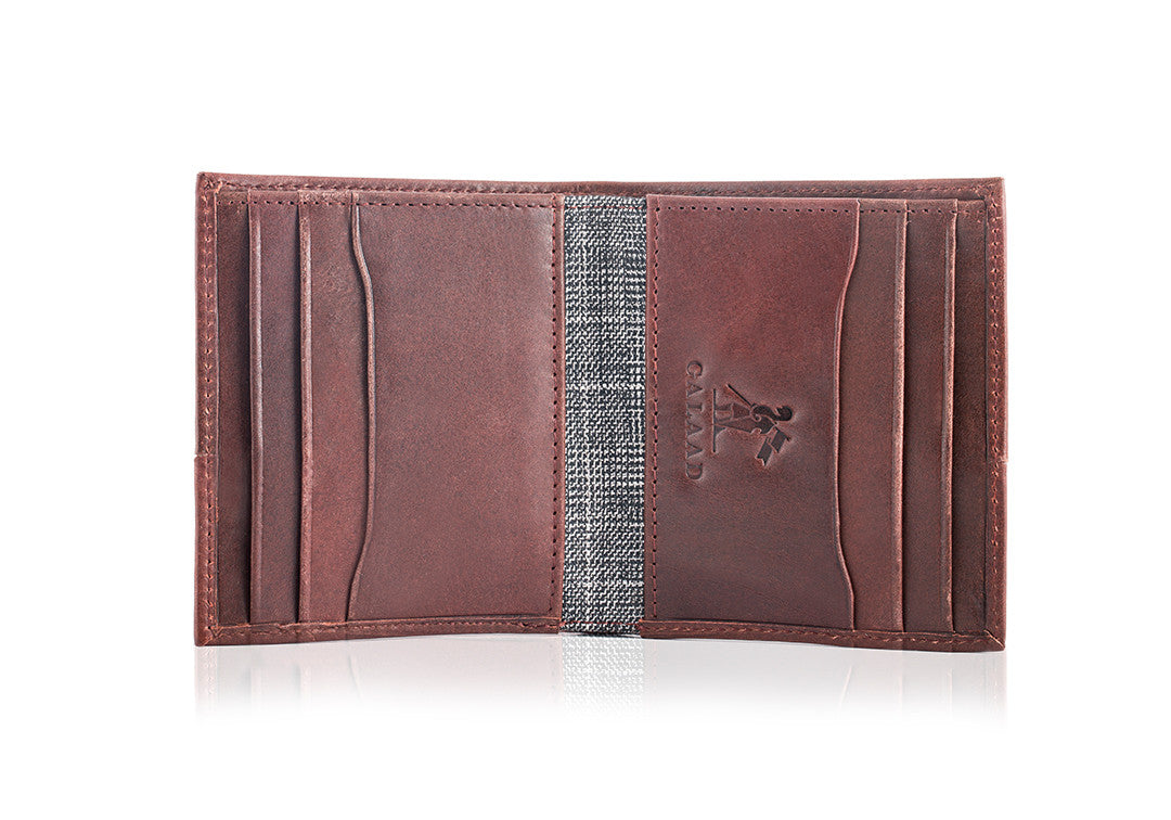 High Feather Brown - Wallet