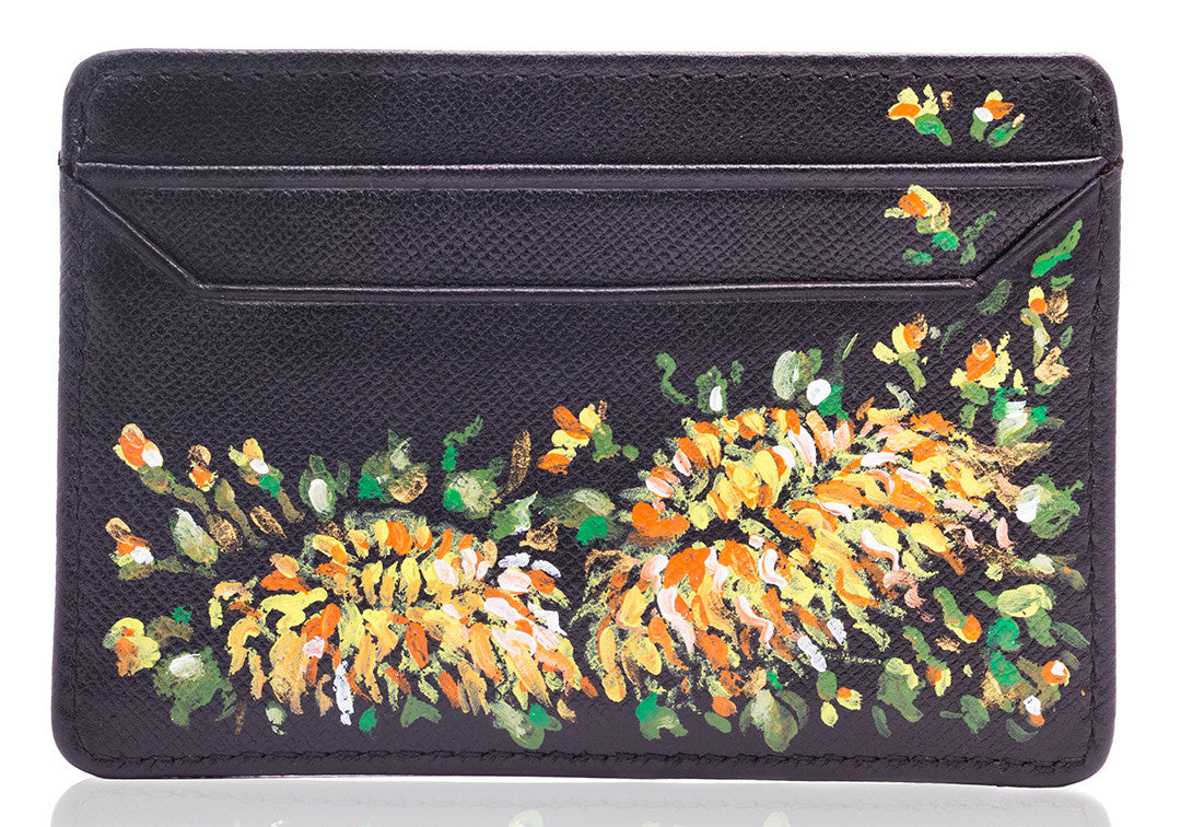 Le Jardin - Sharon Walia Handpainted Card Holder