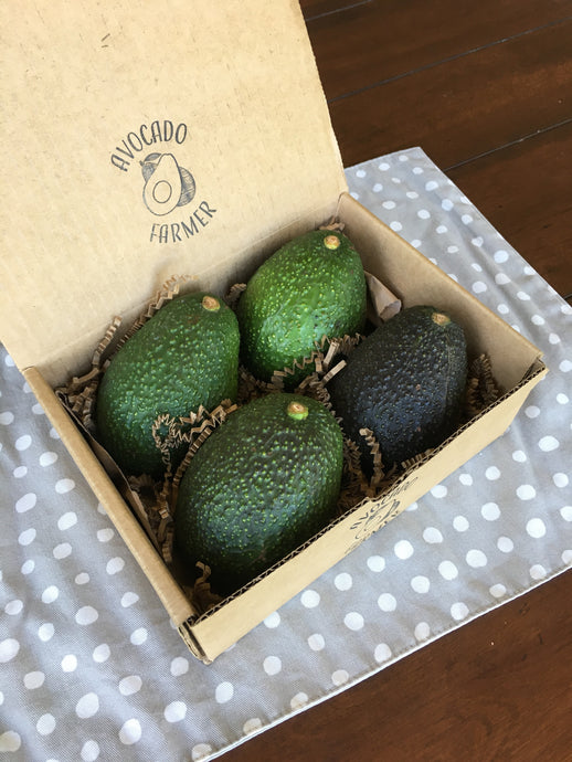 Organic California Hass Avocados (4 pack)