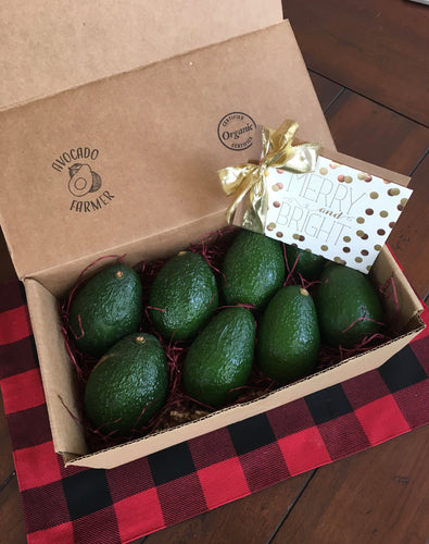 Gift Box - Organic California Hass Avocados (8 pack)