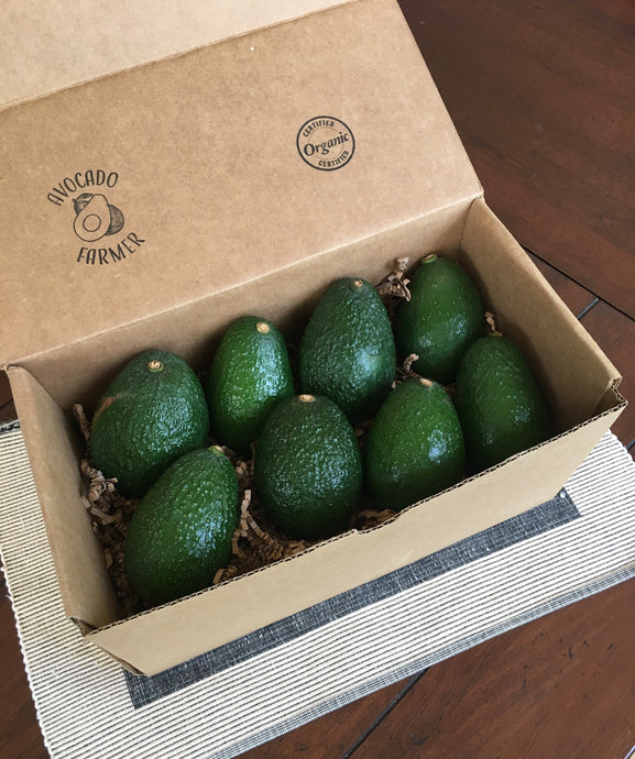 Organic California Hass Avocados (8 pack)