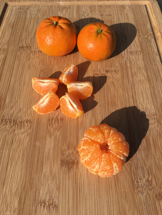 California Organic Sweet Tangerines - 4 pack (combine with any avocado order)