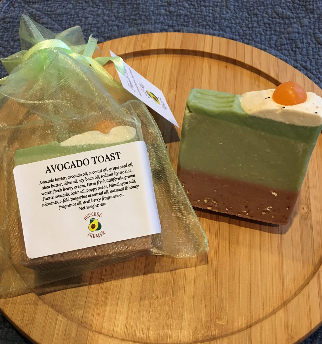 Artisan Avocado Toast Soap