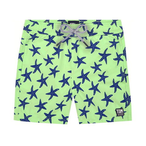 Fresh Green & Blue Starfish