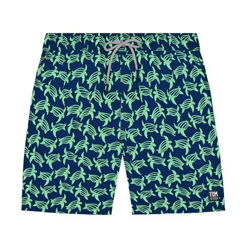 Navy & Green Turtles