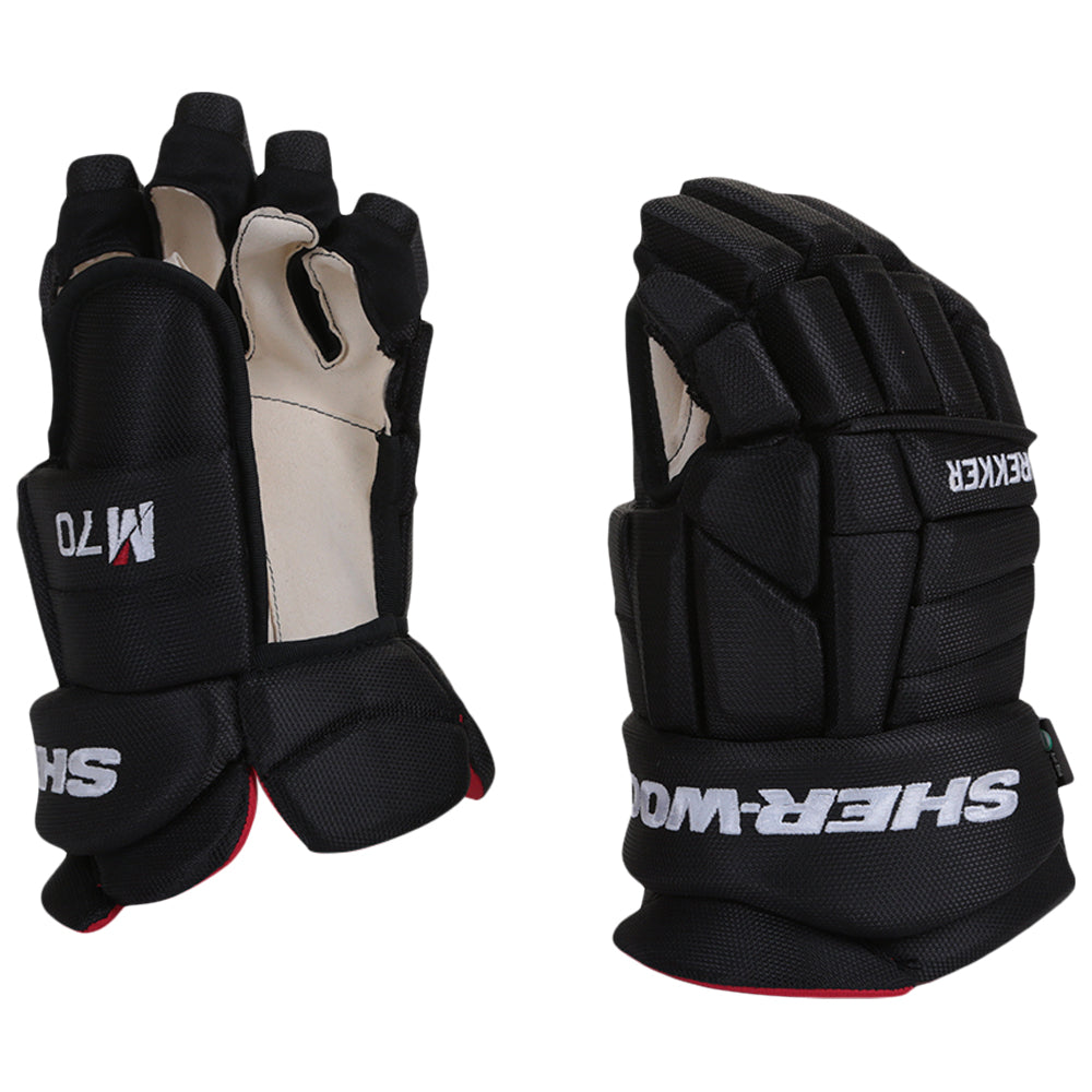 Sherwood Rekker M70 Sr Hockey Gloves