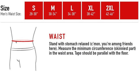 McDavid Athletic Support Sizing Guide