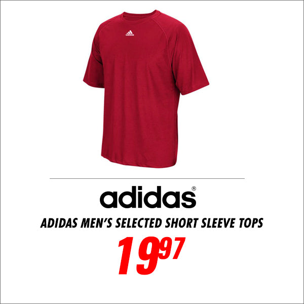 Adidas Men's Selected Climalite Short Sleeve Tops