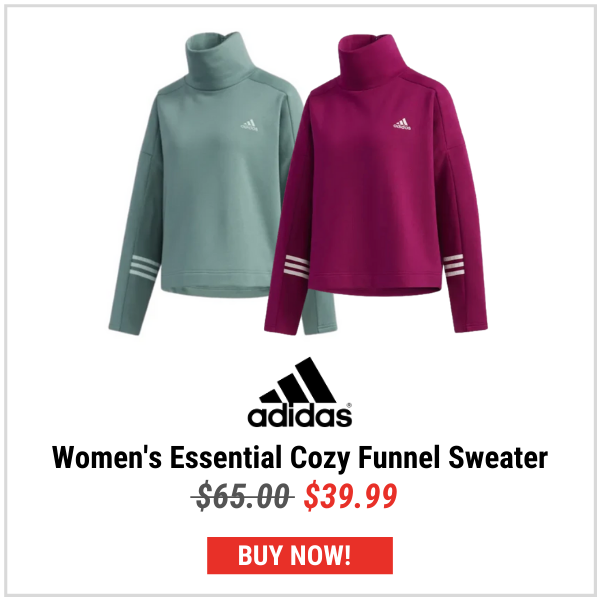 Adidas Women's Essential Cozy Funnel Sweater
