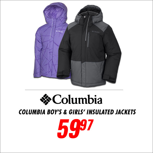 Columbia Youth Insulated Jackets