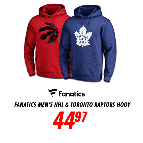 Fanatics Mens NHL and Raptors Hoodies