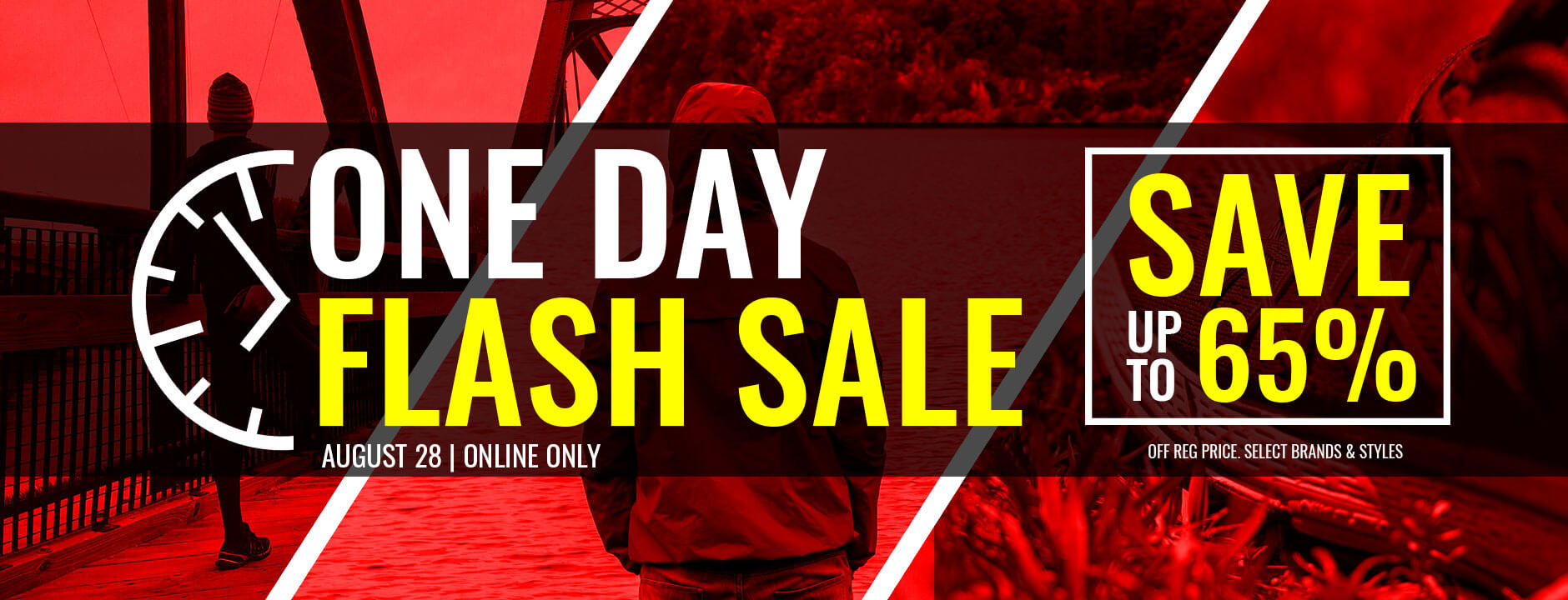 August 28 Flash Sale