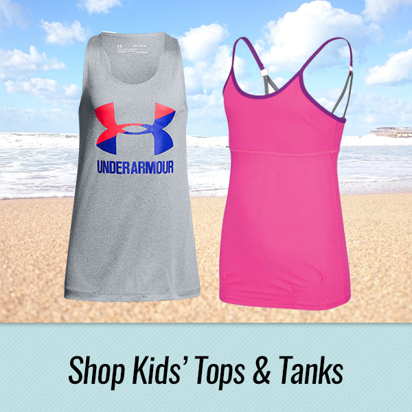 Kids' Summer Tanks and Tops