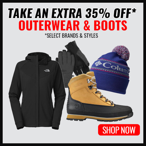 Outerwear, Boots & Accessories