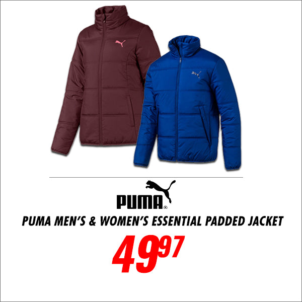 Puma Mens and Womens Padded Jacket