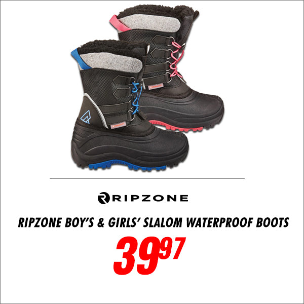 Ripzone Boys and Girls Waterproof Boots