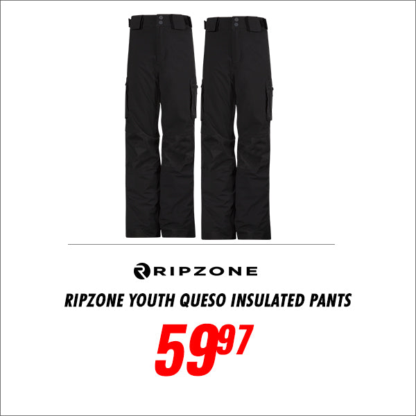 Ripzone Youth Queso Insulated Pants