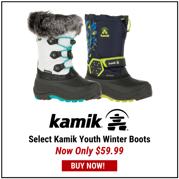 Select Kamik Youth Winter Boots