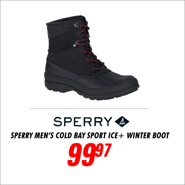 Sperry Men's Cold Bay Sport Ice+ Winter Boot