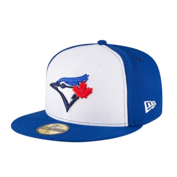 New Era Toronto Blue Jays 5950 Primary Logo Cap Royal/Whit