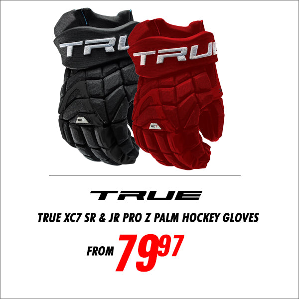 True XC7 Hockey Gloves