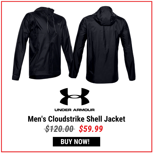 Under Armour Men's Cloudstrike Shell