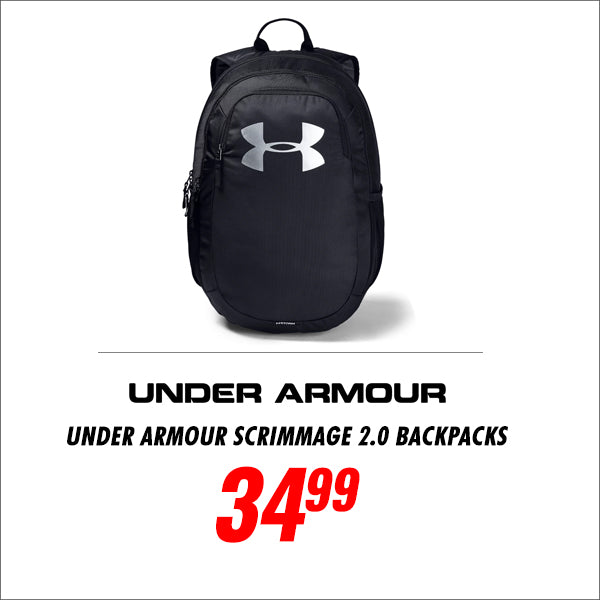 Under Armour Scrimmage 2.0 Backpacks