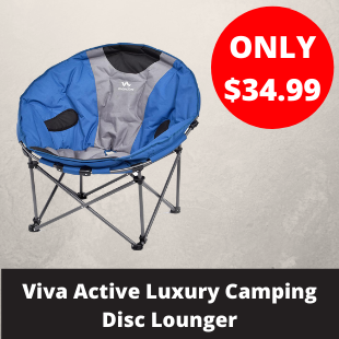 Viva Active Luxury Camping Disc Lounger
