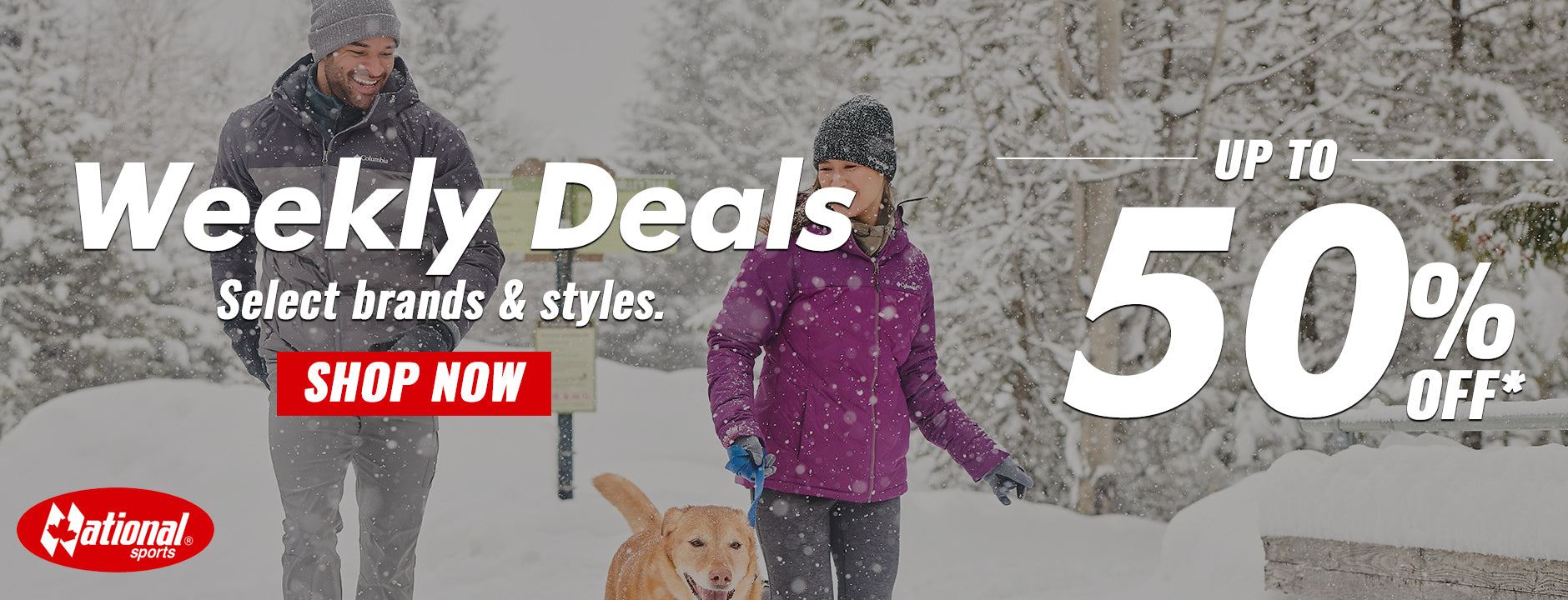 Weekly Deals Page
