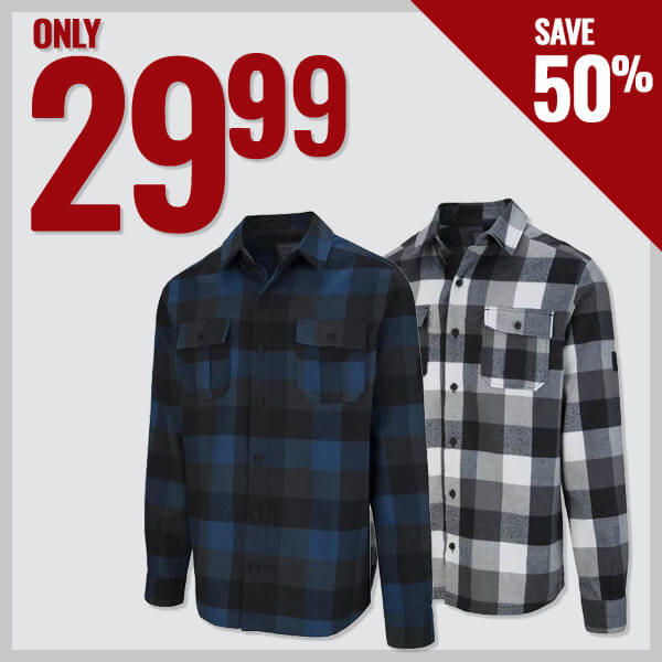 McKinley Men's Flannel Shirts