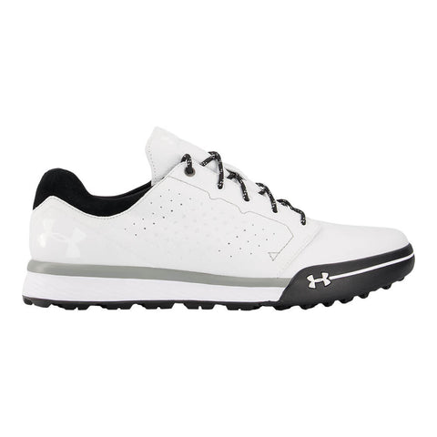 UNDER ARMOUR MEN'S TEMPO HYBRID GOLF CLEAT WHITE