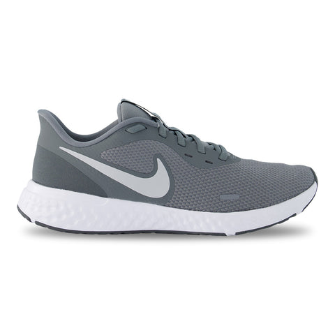 NIKE MEN'S REVOLUTION 5 RUNNING SHOE PHOTON COOL GREY/PURE PLATINUM/DARK GREY