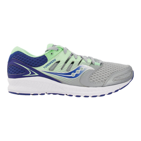 SAUCONY WOMEN'S TORNADO 2 RUNNING SHOE BLUE/GREY/MINT
