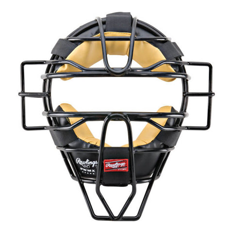 RAWLINGS PWMX TRADITIONAL CATCHER/UMPIRE WIRE MASK BLACK