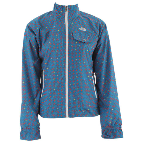 THE NORTH FACE WOMEN'S PENELOPE POLKA DOT JACKET BLUE